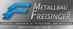 Metallbau FREISINGER KG